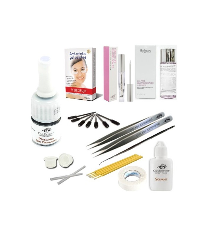 Kit Mascara Semi Permanent