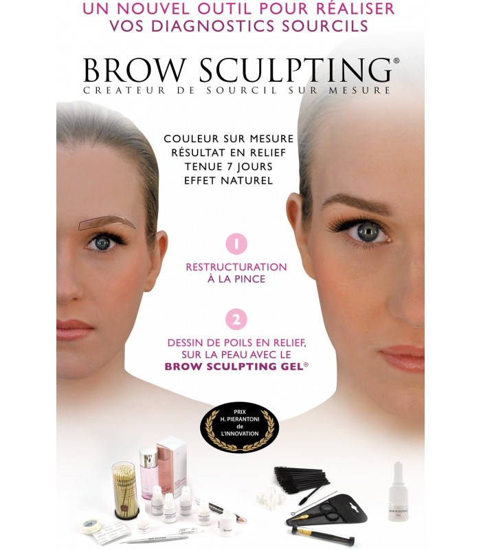 BROW SCULPTING GEL 3D